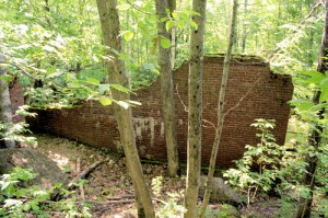 Remains of the Livermore Mill