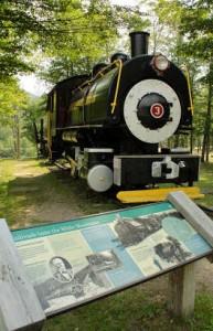 EB&L Railroad at Loon Mountain. Chris Proulx Photo.