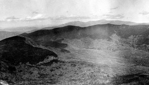 Pemigewasset Wilderness, Clear Cut and Burned in the 1910s. AMC Archives Photo.