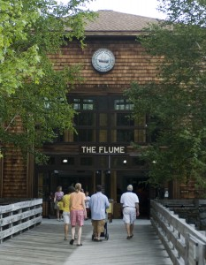 Flume Gorge Visitor Center (Greg Geeler Photo)