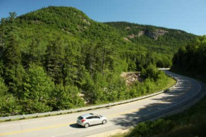 Exploring the White Mountain National Forest along the Kancamagus Highway